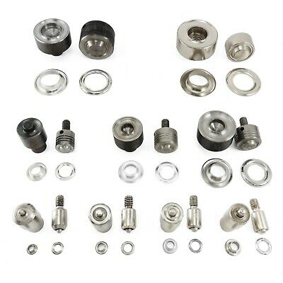 Fixing tool for eyelets grommets banner use with universal hand press die