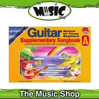 New Progressive Guitar Method for Young Beginners Supplementary Songbook A & CD
