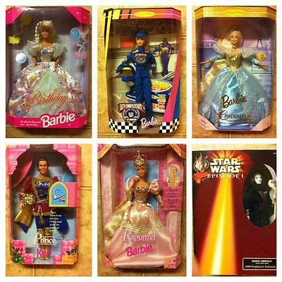 Lot of 14 Collector Barbies