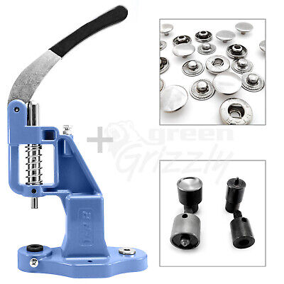 Pack of hand press + fixing tool 15 mm S spring press fastener + supplies S003