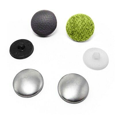 Button blanks for cover buttons in various size's plastic backs 10 to 37 mm wide