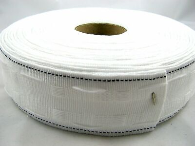 2 Inch ( 50Mm ) Curtain Heading Header Tape Pencil Pleat ( Choice Of Lengths )