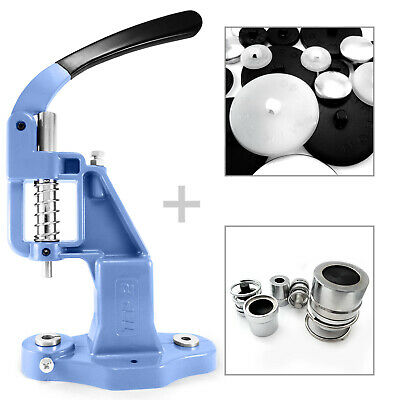 Professional button making cover machine setting tool die and  50 blanks S004