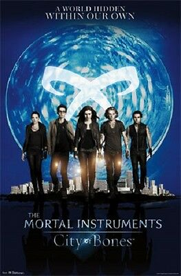 THE MORTAL INSTRUMENTS CITY OF BONES GROUP POSTER 22x34 NEW FAST FREE SHIPPING