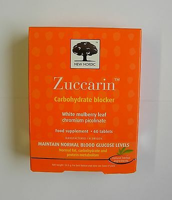 New Nordic Zuccarin 60 Tablets Cheap Price & Free UK Postage
