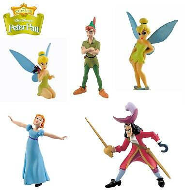 BULLYLAND DISNEY PETER PAN FIGURES - Choice of 5 different figures