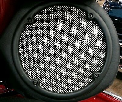 Rear Stainless Speaker Grills Harley Davidson Touring  Ultra Classic Limited