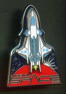 Disney  WDW  Mission Space X -2 Shuttle 3D Pin