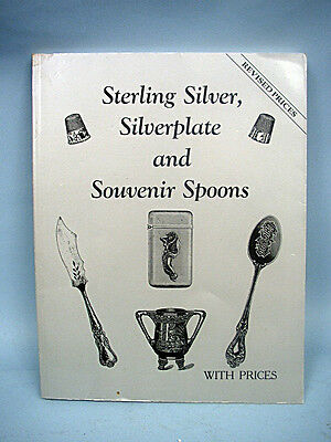 Book: Sterling Silver, Silverplate, and Souvenir Spoons by Schiffer Publishing