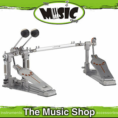 Pearl P-932 Left Handed  Demonator Twin Bass Drum Pedal  P932L Doble Kick Pedal