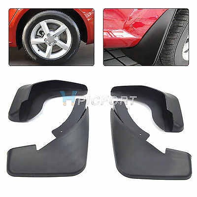 Fit For 2013 Audi A4L A4 (B8) Sedan Mud Flap Splash Guards Mudguard Molded 2008+
