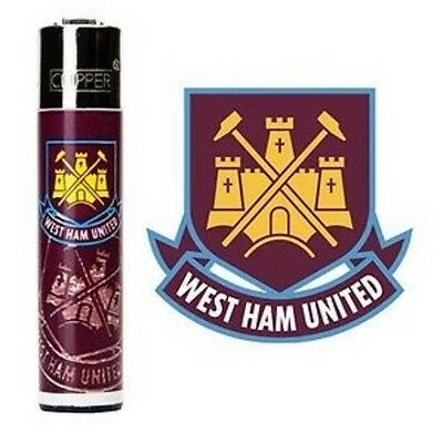 Official Westham Football Club Flint Cipper Lighter Genuine Uk Seller