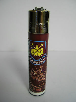 Official West Ham United FC Football  Clipper Lighter Ideal Gift