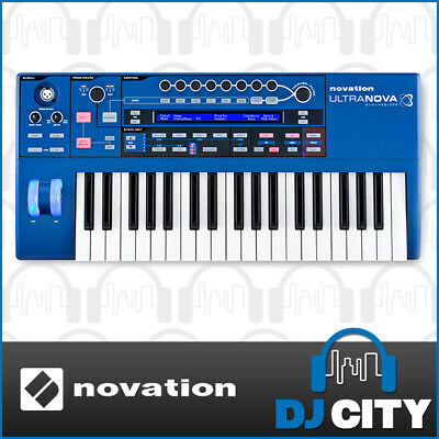 Novation Ultra nova Synthesiser and Midi Controller with Vocoder - BRAND NEW