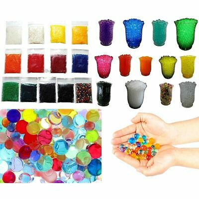 Crystal Soil Water Beads x 5 Bags Mud Jelly Gel Balls Wedding Centrepieces