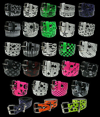 Wholesale Job Lot Leather Belts Punk Emo Gothic Accessories Mixed Goods