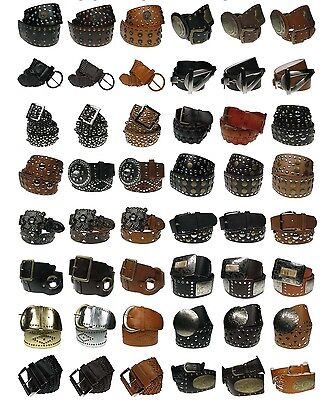 Wholesale Job Lot PU Leather Ladies Fashion Belts Accessories Mixed Goods