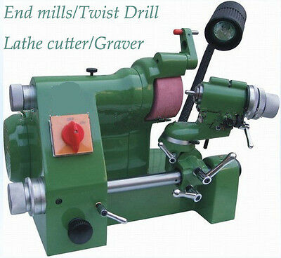 Universal cutter grinder sharpener for end mill/Twist drill/lathe cutter AUG