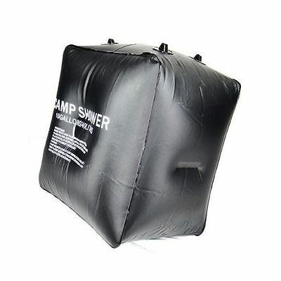 40L Outdoor Camping Hiking Solar Energy Heated Camp Shower Pipe Bag Portable New