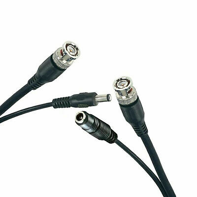 20M BNC to BNC + DC CCTV Cable Video And Power In One Cable Free Irish Delivery