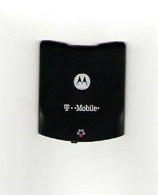 Lot Of 4 Used Oem Battery Door Back Cover Motorola Razr V3T T Mobile Black