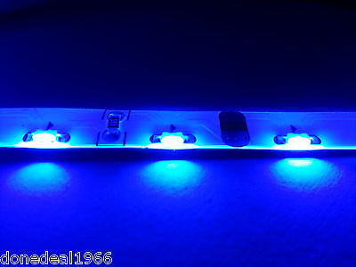 Blue Modding Pc Single 30Cm 3 Pin Strip Mobo Backlight Case Edge Light Led Strip