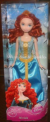 Disney Sparkle Princess Merida Doll NRFB
