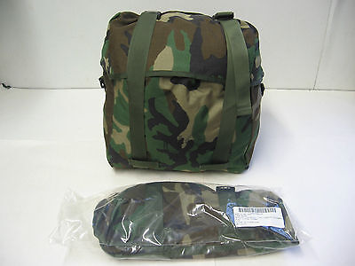 New Us Army Molle Ii Bag Woodland Hunting Survival Grab N Go Backpack Usgi