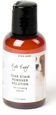 Eye Envy NR Dog Cat Pet Tear Stain Remover Liquid Solution Removal System 2 oz