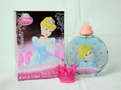 DISNEY'S SNOW WHITE GIRLS PERFUME -NEW IN BOX - RETAIL READY 3.4 oz EDT-SPRAY