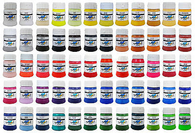 Daler Rowney System 3 Acrylic Artist Paint 250ml Tube All Colours Available