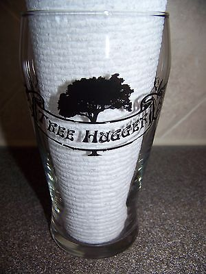 TERRAPIN BEER Co. TREEHUGGER Pint Glass Athens Georgia Brewery