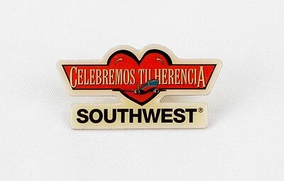 "Southwest Airlines ""Celebremos tu Herencia"" collector's pin"