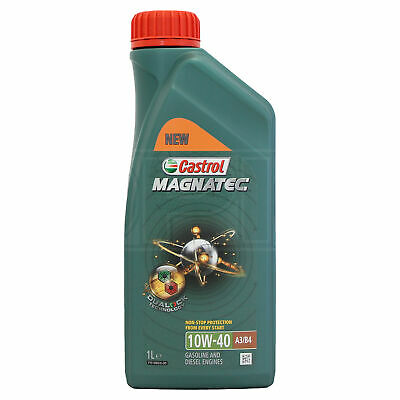 Castrol Magnatec 10W-40 Part-Synthetic Engine Oil ACEA A3/B4 10W40 1 Litre 1L