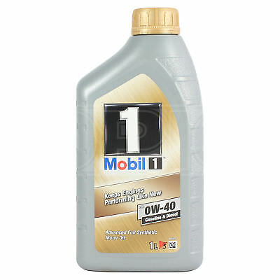 Mobil 1 FS 0W-40 Fully Synthetic Engine Oil 0W40 Mobil1 - 1 Litre 1L