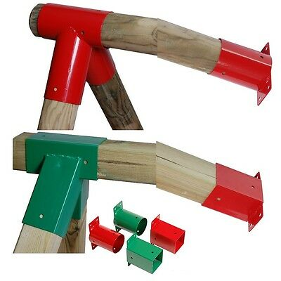 Swing Corner Bracket Square/round Flat/angled For Climbing Frame Selection!