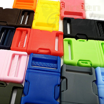 Plastic delrin side release buckles for webbing bags straps clips 30 mm - AD5