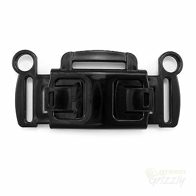 3 way plastic buckle for baby stroller and chairs, for 30 mm webbing, AHJ