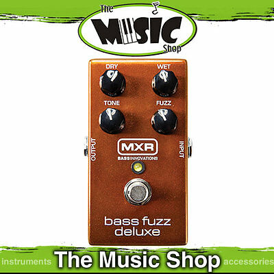 New MXR M84 Bass Fuzz Deluxe Effects Pedal