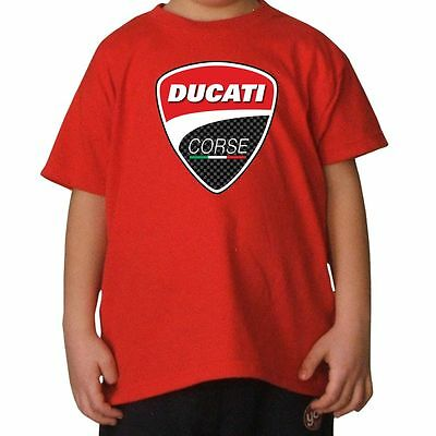 T-SHIRT BAMBINO DUCATI 4 by SHIRTSERVICE