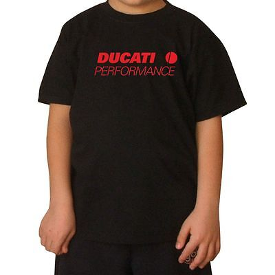 T-SHIRT BAMBINO DUCATI 6 stampa ROSSO by SHIRTSERVICE