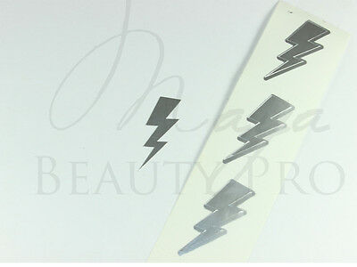 200 Tanning Tattoo LIGHTNING Thunder Bolt Scrapbooking Spraytan Tanning Bed