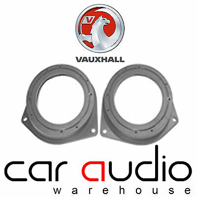 Connects2 CT25VX05 Vauxhall Astra 2006> Speaker Adaptors Fitting Rear Side 13CM