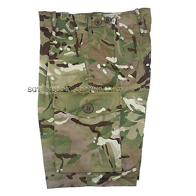 Genuine British Army Multicam MTP Shorts in New Condition