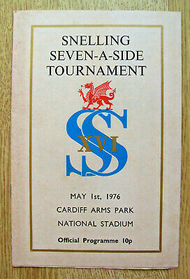 Snelling Sevens 1976 Rugby Programme