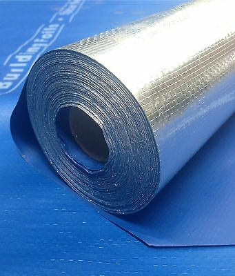 Wall Building Foil Insulation, Breathable Heavy Duty Wrap 60LM