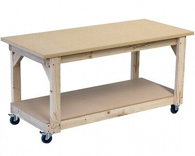 Mobile work bench 1800 x 800mm