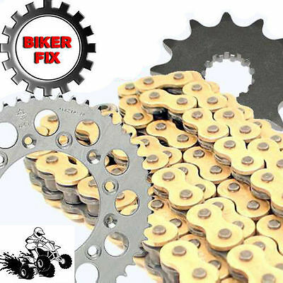 Suzuki RM250 D 83 GOLD Chain and Sprocket Set Kit HDR Race