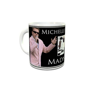Madness custom printed mug personalised with your name unique unusual gift