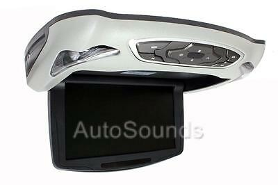 """Soundstream VCM-9DX Overhead Drop Down 9"""" LCD Monitor Built-in DVD Player SD USB"""